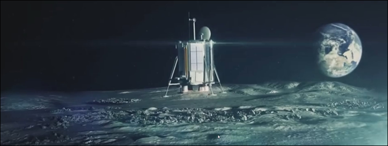 Lunar Mission One Touchdown